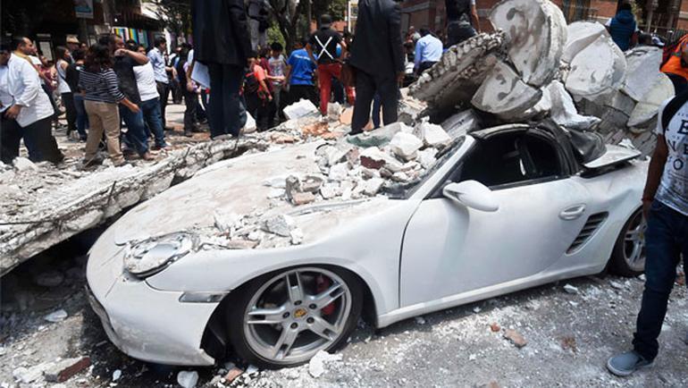 Son dakika Meksikada şok görüntüler Ölü sayısı artıyor...