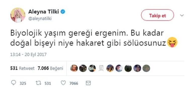 Aleyna Tilki: Ergenim ben