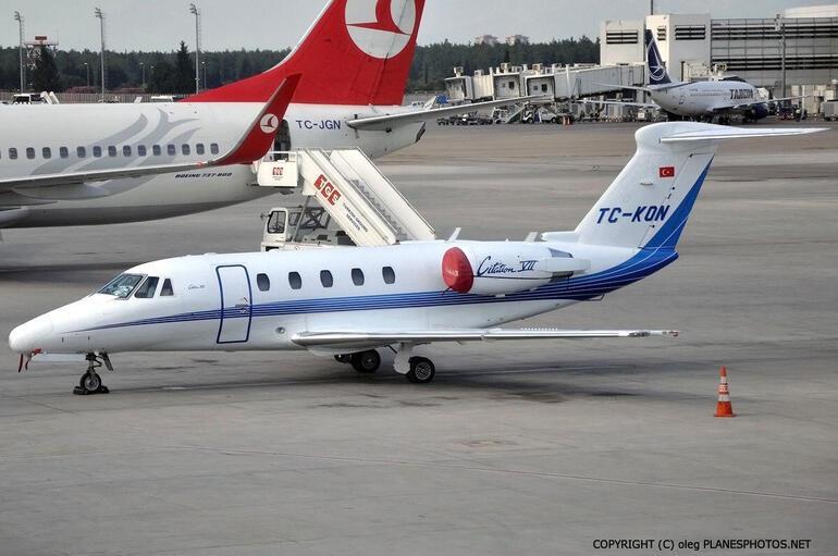 Son dakika... Atatürk Havalimanında özel jet düştü