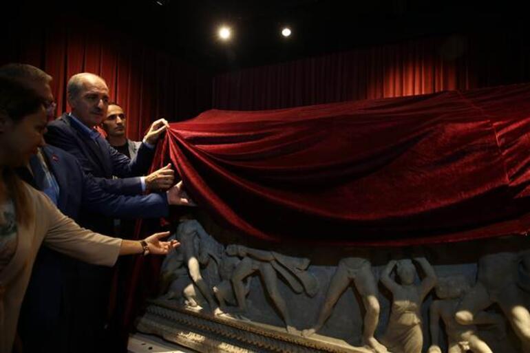 Herakles Lahdi, Bakan Kurtulmuş tarafından ziyarete açıldı