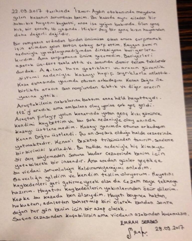 Behzat Çnin yazarı Emrah Serbesten son dakika itirafı
