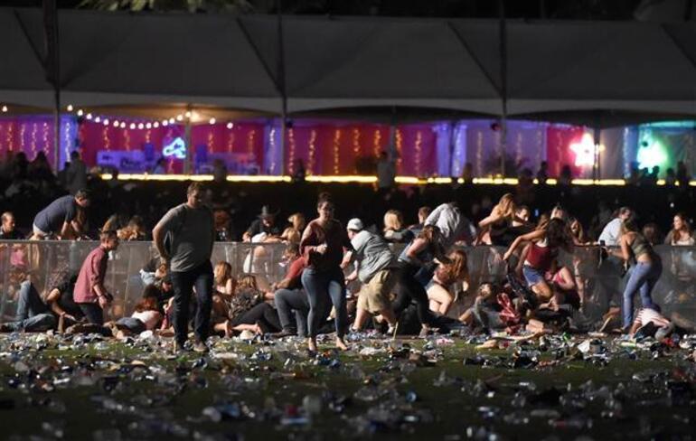 Son dakika ABDde konsere silahlı saldırı