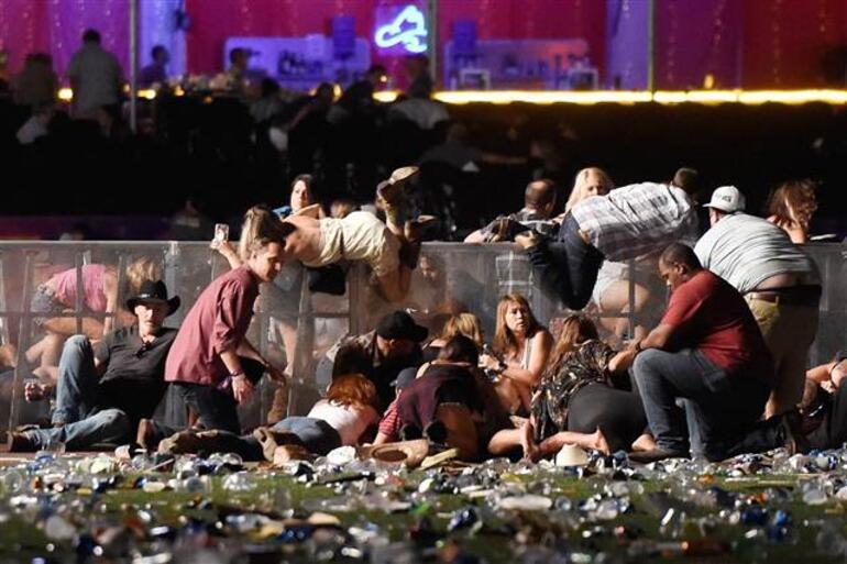 Son dakika ABDde silahlı saldırı.. Yetkililer açıkladı: en az 50 ölü, 200den fazla yaralı