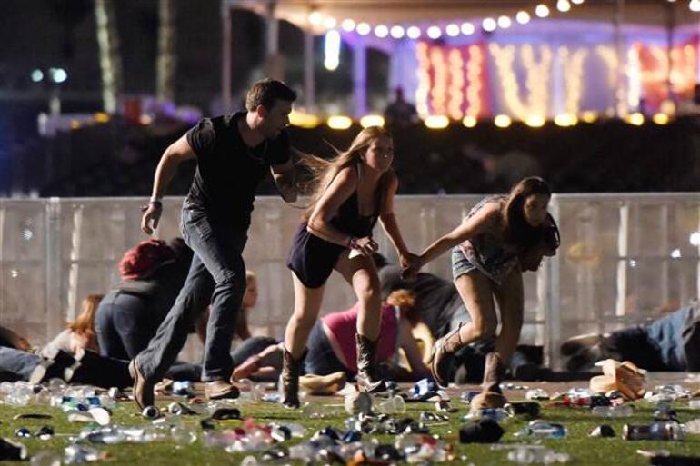 ABDde silahlı saldırı.. Yetkililer açıkladı: en az 50 ölü, 200den fazla yaralı
