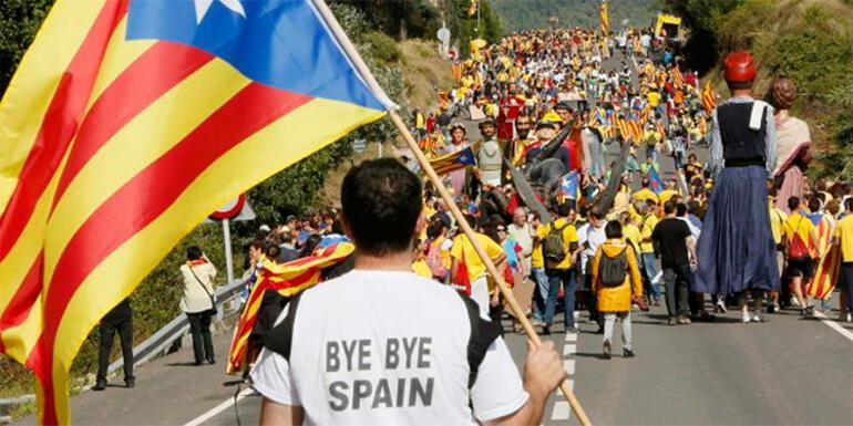 İspanyada tansiyon yüksek Kral Felipe konuştu İspanyayı parçalamak...