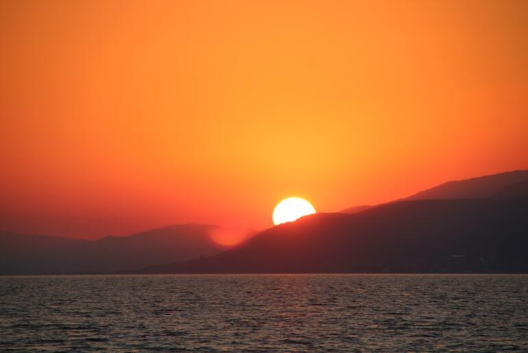 İznikte gün batımı
