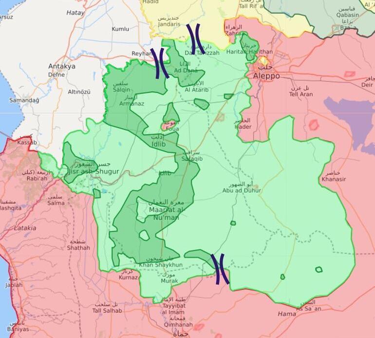 Son dakika: ÖSO İdlib'e girdi, çatışmalar sürüyor, TSK alarmda