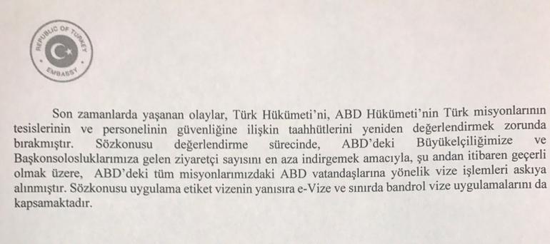 Türkiye-ABD vize krizi...Amerika'ya gitmek için tur ve bilet satın alanlar ne yapacak