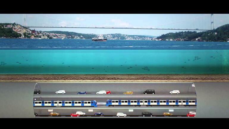 Üç Katlı İstanbul Tüneli nereden geçiyor İşte şanslı ilçeler