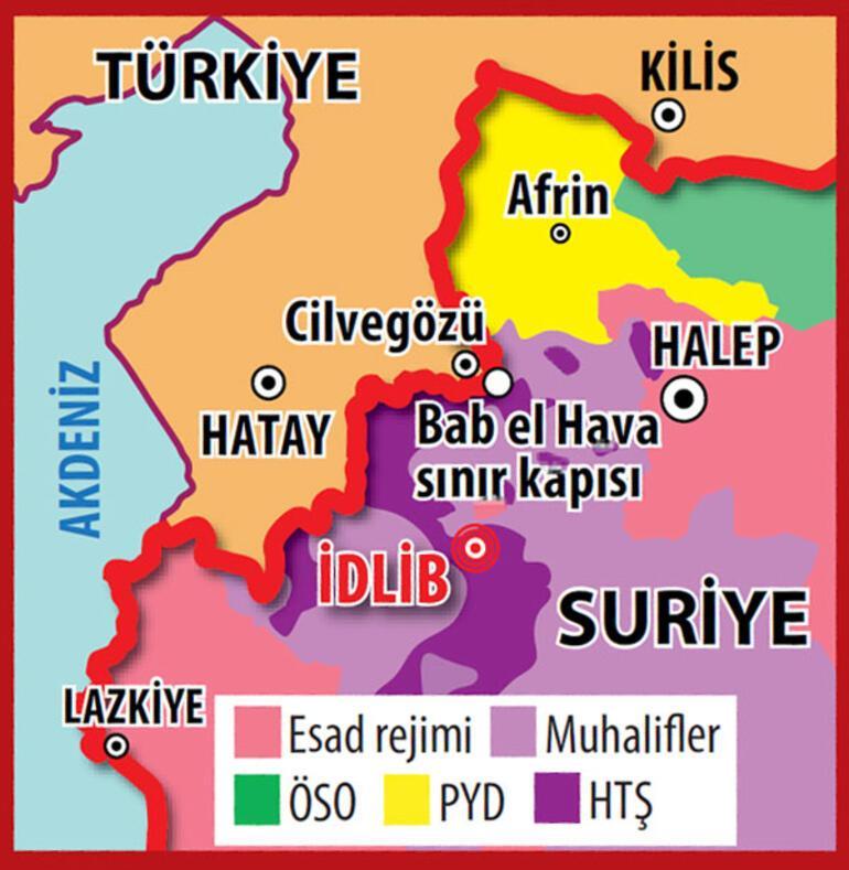 Son dakika...Türk askeri İdlibe girdi...
