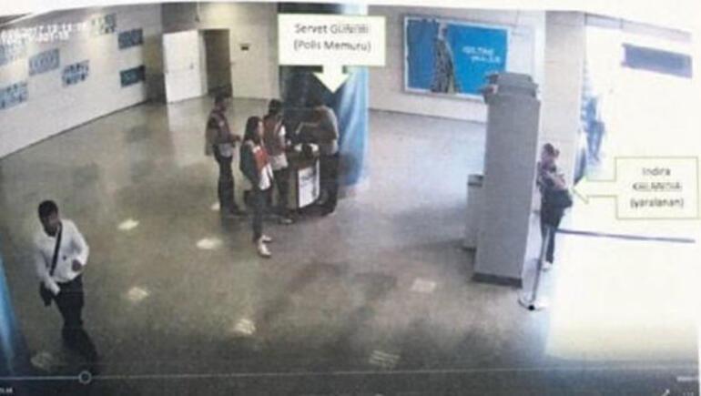 Marmarayda hareketli dakikalar Polis yanlışlıkla yolcuyu vurdu