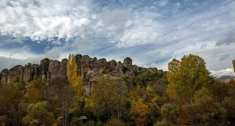 Konyanın Kapadokyasında sonbahar güzelliği 4