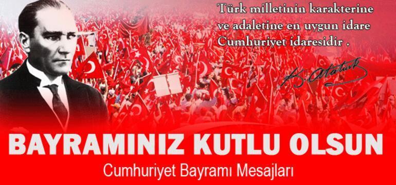 Cumhuriyetimiz 94 yaşında Resimli 29 Ekim sözleri