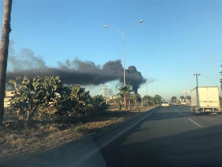 FETÖ sanığı işadamının yağ fabrikasında yangın çıktı