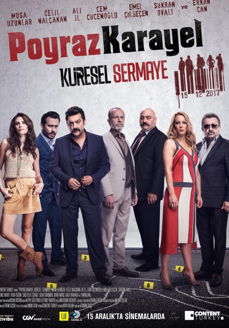 Poyraz Karayel Küresel Sermaye'nin teaserı ve afişi yayınlandı