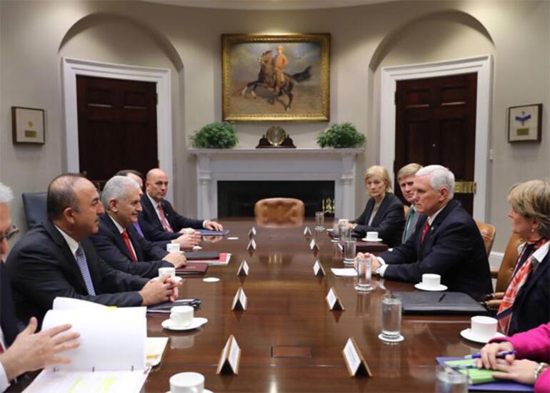 Son dakika... Beyaz Sarayda kritik görüşme sona erdi: Beklenenden iyi