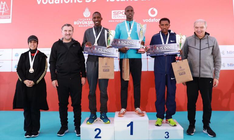 Vodafone İstanbul Maratonu sona erdi Kazanan ise...