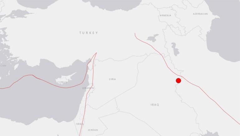 Son dakika... Irakta 7.3 büyüklüğünde korkutan deprem