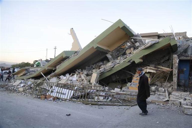 Son dakika... Irakta 7.3 büyüklüğünde deprem.. Ölü sayısı artıyor