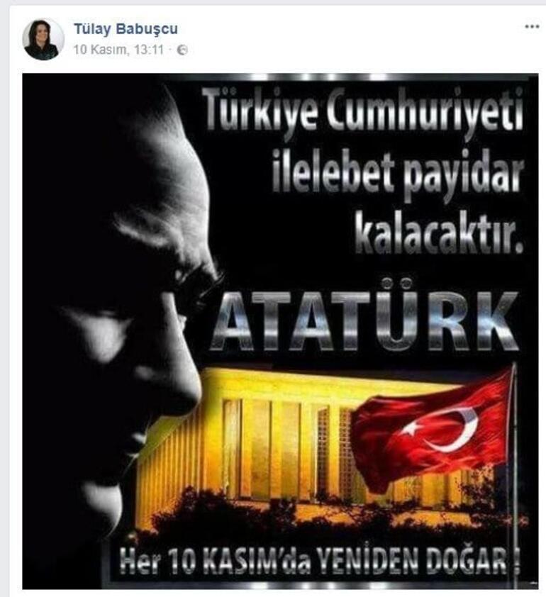90 yıllık reklam arası sona erdi mesajı tepki çekmişti Tülay Babuşcudan Atatürk paylaşımı