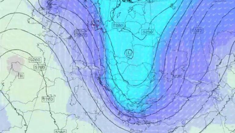 Kutupsal soğuk hava böyle geliyor