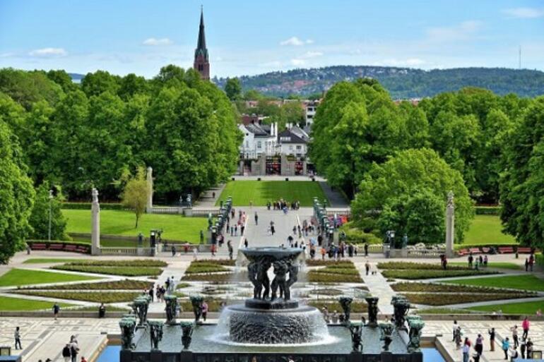 Kuzeyin soğuk şehri: Oslo