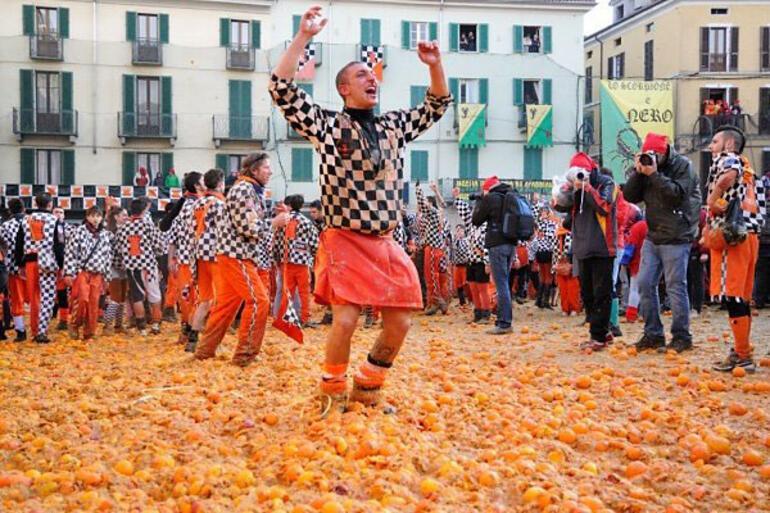 Dünyanın çeşitli yerlerindeki en ilginç festivaller