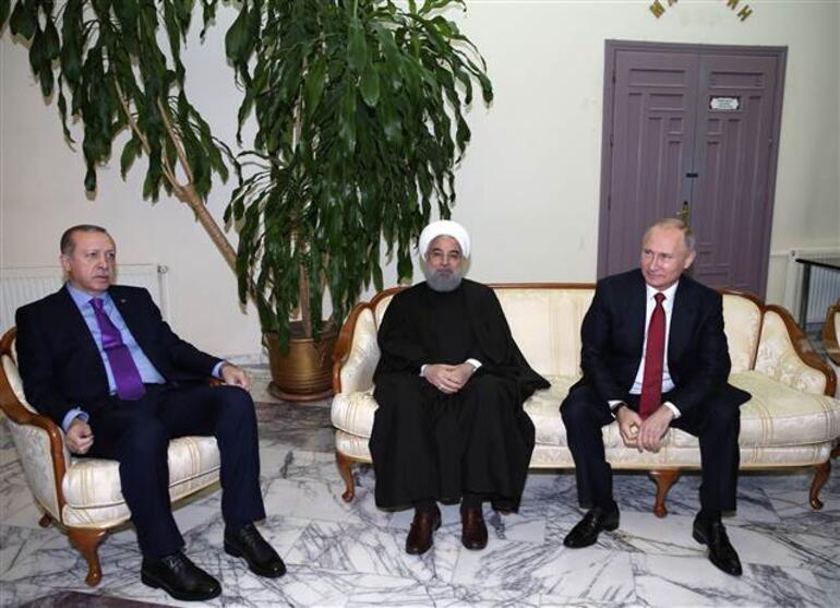 Zirve bitti... Erdoğan iki liderin yanında net konuştu
