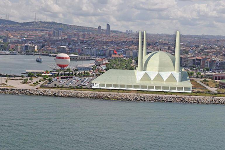 Kadıköy rıhtıma cami onaylandı