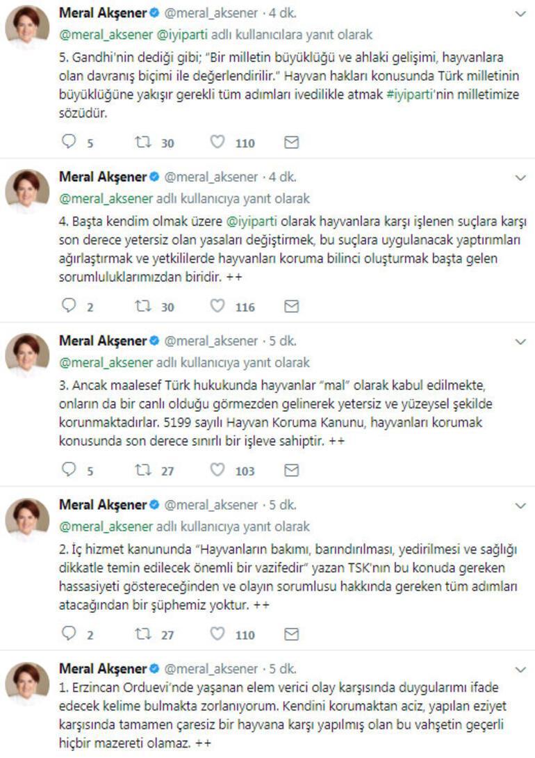 Türkiyeyi ayağa kaldıran vahşete Akşenerden tepki