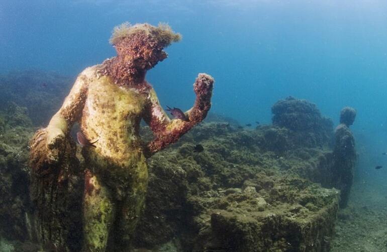 Sular altında kalan antik Roma kentine yolculuk