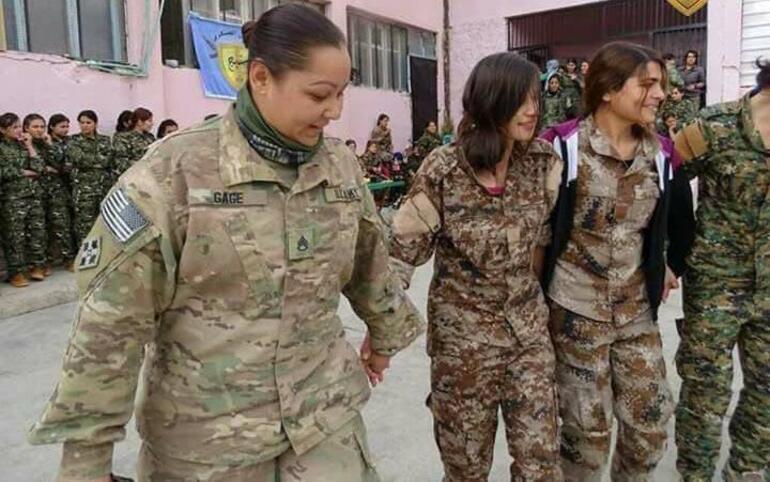Menbiçte halay başı ABDli askeri