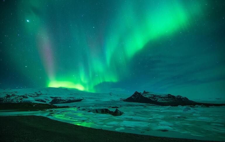 Kuzey Işıklarını görebileceğiniz en iyi 6 yer