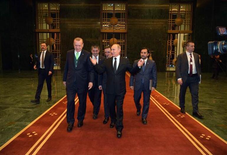Son dakika... Erdoğan-Putin görüşmesinde Kudüs vurgusu