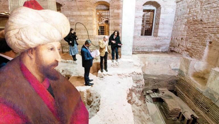 Topkapı Sarayı'nda müthiş keşif: 5 hünkârın hamamı