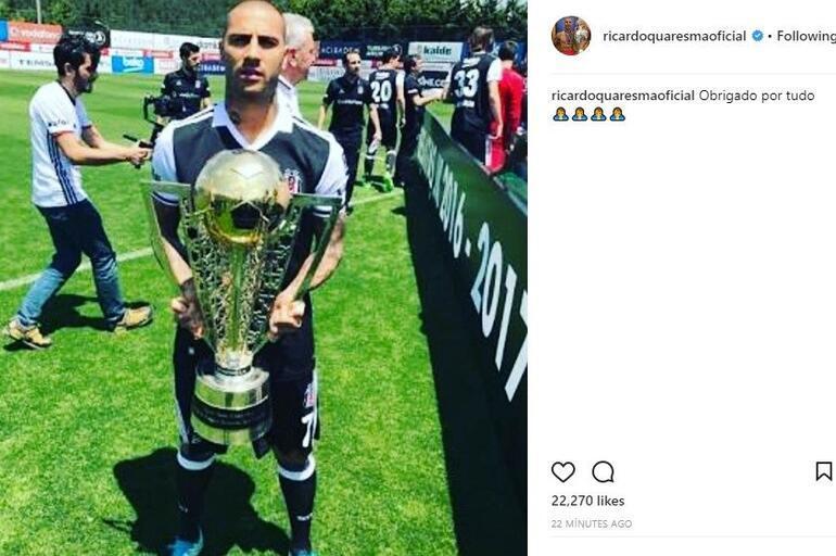 Q7nin mesajı için Beşiktaştan açıklama