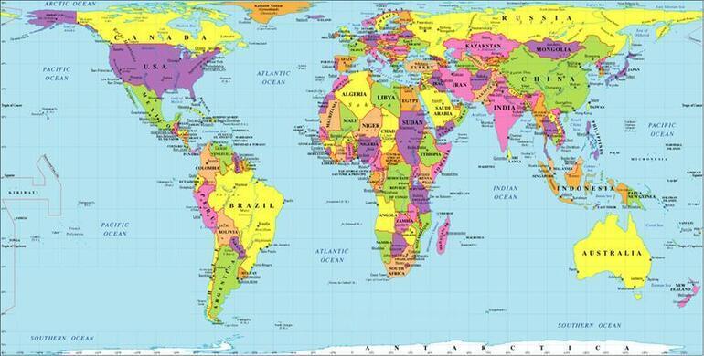 İşte dünya haritasındaki büyük yalanın sırrı