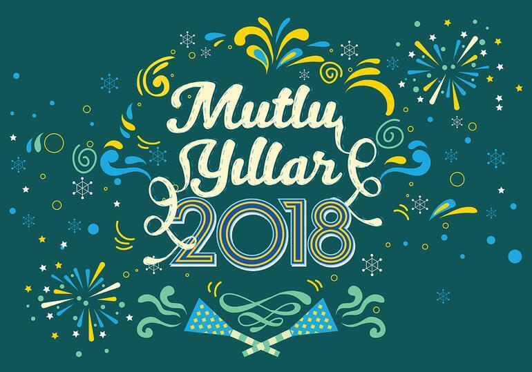 Yeni yıl mesajları 2018 yılının ilk anlarına değer katacak Resimli yılbaşı kutlama mesajları