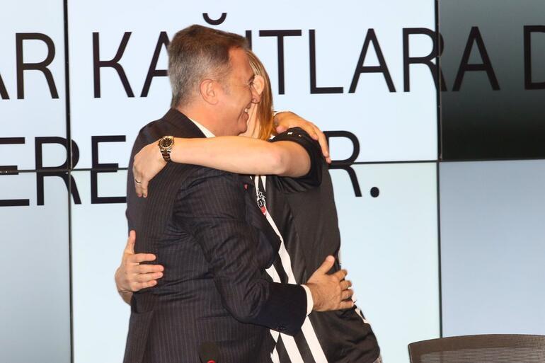 Beşiktaş Vidayı KAPa bildirdi İmza töreninde flaş açıklamalar