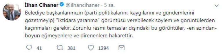 CHPli başkanın çok konuşulan fotoğrafına partisinden tepki