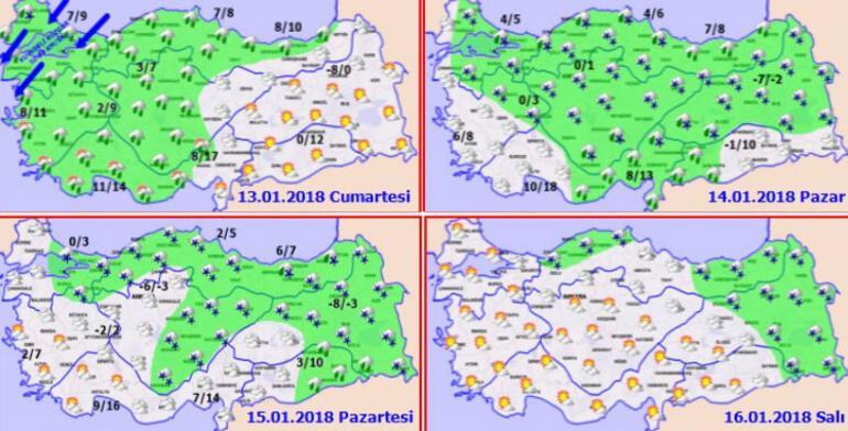 İstanbul'a kar ne zaman yağacak İşte son durum