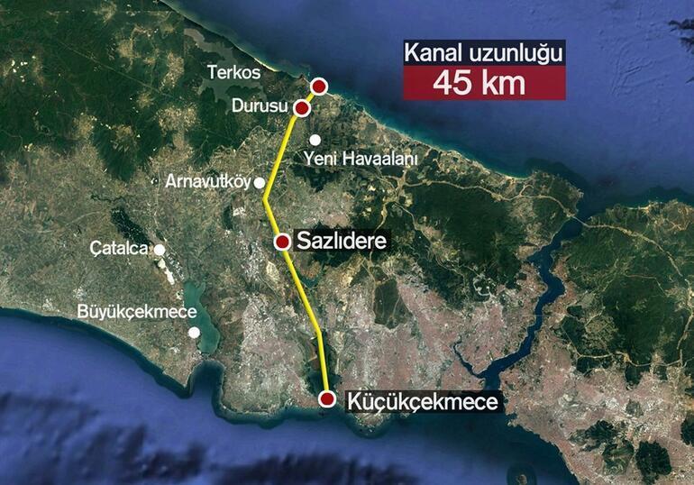 Kanal İstanbul için büyük gün bugün Detaylar belli oldu
