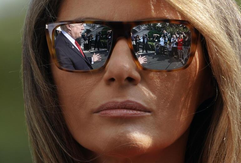 Trump'ın porno yıldızıyla ihanetine Melaniadan tepki: Davos'a gitmiyor