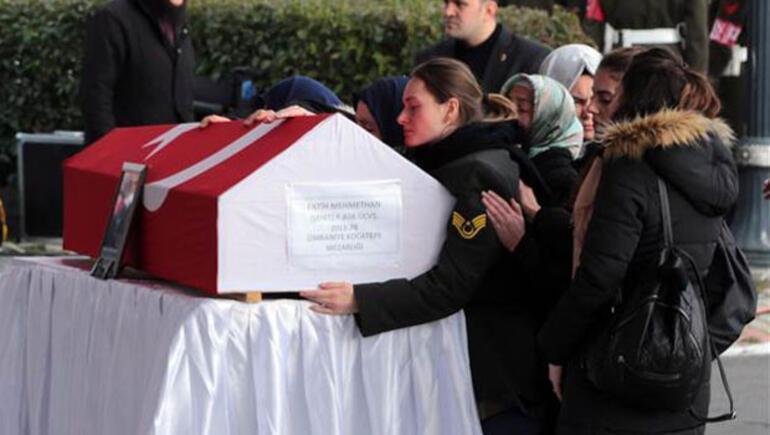 Afrin şehidi piyade üstçavuş Mehmethan, son yolculuğuna uğurlandı