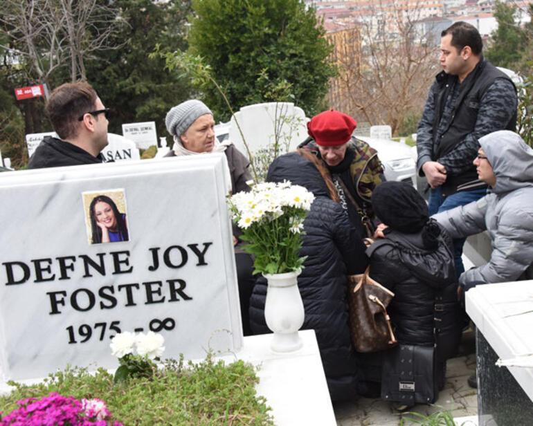 Defne Joy Foster'ın Annesi, Kızının Mezar Taşına Sarılıp Ağladı ile ilgili görsel sonucu