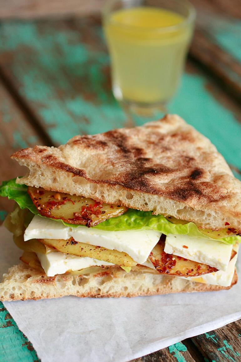 Keyfinizi hemen yerine getirecek  sandviç tarifleri