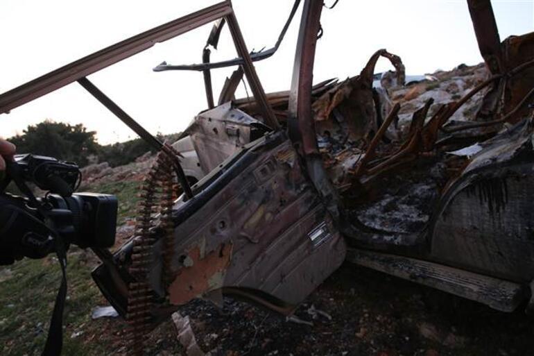 Afrin'de sıcak gelişme… Teröristler saldıracaktı tankımız vurdu