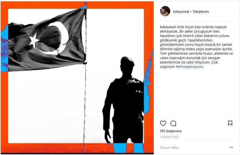 Tuba Ünsal: Bir asker çocuğuyum ben