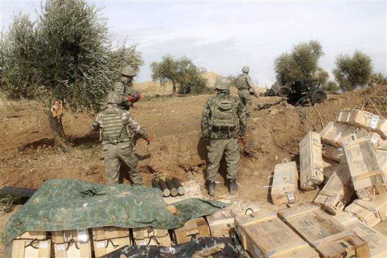 Asker yaklaştı, teröristler hendek kazıyor İşte son durum