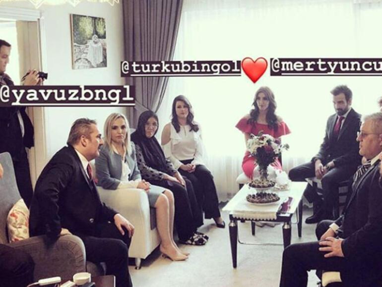 Yavuz Bingölün kızı Türkü Sinem Bingöl nişanlandı